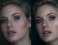 Basic portrait retouch