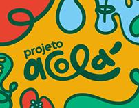 Projeto Acolá - Identidade Visual