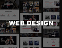 Web Design - Landing Page bertsevich-event.by