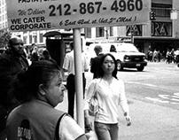 NY. b/n film