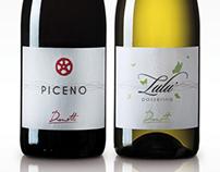 DIANETTI - Logo e Linea Etichette Vini