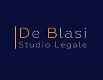 Visual Identity for Law Office De Blasi in Rome
