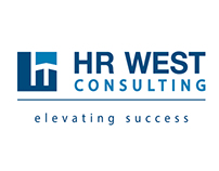 Logo & Business Card Design: HR West Consulting