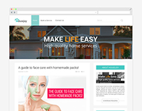 Blog Website Design - Housejoy