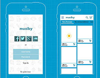 Muziby - Mobile app for buying music
