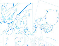 Sonic The Hedgehog test pages