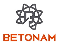 LOGOTYPE FOR CONCRETE COMPANY BETONAM