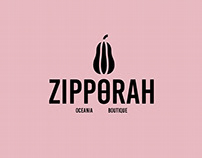 "Logo - ""Zipporah"" Boutique"