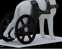 animal wheelchair and prosthesis design