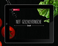 NEFF Kitchen storys webspecials