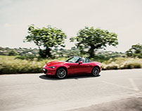 the new Mazda MX5