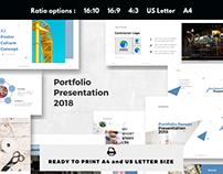 Personal portfolio presentation 2018