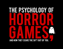 Infographic on the Psychology of Horror Games