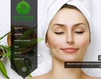 Ayurveda Resort Website customisation