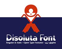 Disoluta font