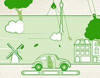 Damage Free Driving - illustration/animation
