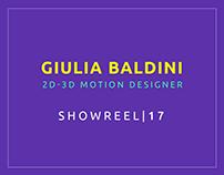 SHOWREEL | 17 Giulia Baldini