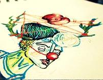 Metaphorical clown