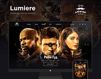 Websites for cinema Lumiere