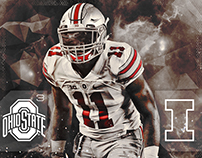 Ohio State Gameday and Post Game Infographics // 2015