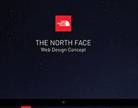 THE NORTH FACE WEB DESIGN