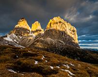 Dolomites. Vertical