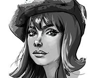 Sketch 1 Practice BW - Digital Drawing