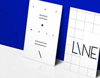 cafe L I N E - identity design