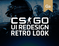 Counter-Strike Global Offensive UI Retro Look