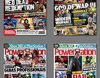 Revista PowerStation - Diagramação e capas