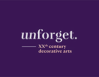 Unforget — XXth century decorative arts