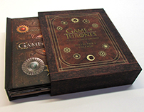 Packaging for Game of Thrones Collector's Edition Set