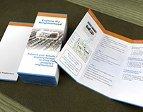 Real estate tri fold brochure / flyer