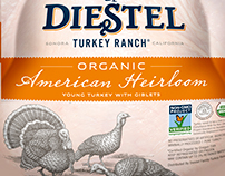 Diesel Turkey Packaging Illustrated by Steven Noble