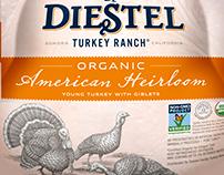 Diesel Turkey Packaging Illustrated by Steven Noble