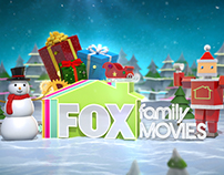 FOX FAMILY MOVIES Christmas Ident