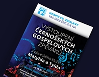 Flyers / Invitations of Hospic Sv. Zdislavy Liberec