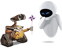 Wall-E Illustrator Project