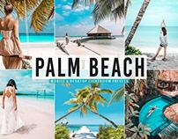 Free Palm Beach Mobile & Desktop Lightroom Presets