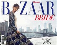 Sonam Kapoor in NYC for Bazaar Bride August Cover