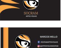 Cartões de Visita SOCRAM - Artes Visuais