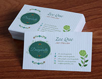 Free Beautiful Business Card Design & Mock-up PSD