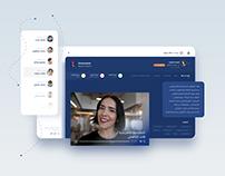 TimeViewer Public website Virtual Clinic UI Interaction
