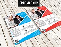 Free Flyer & Poster MockUp