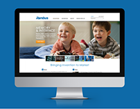 Rambus Corporate Website Redesign