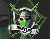 Hunters American football team (logo & Identity)
