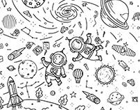 Hidden Objects Illustrations