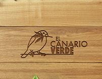 Imagen corporativa completa para El Canario Verde
