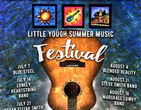Little Yough Summer Music Festival Poster