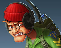 Blitz Brigade - Character concept